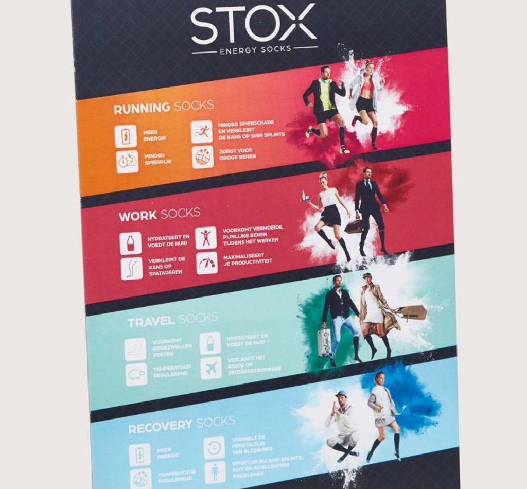 STOX Energy Desk Display
