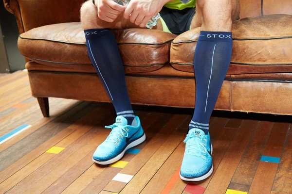 Do you put on the STOX Energy Socks the right way? This is how your compression socks will last the longest!