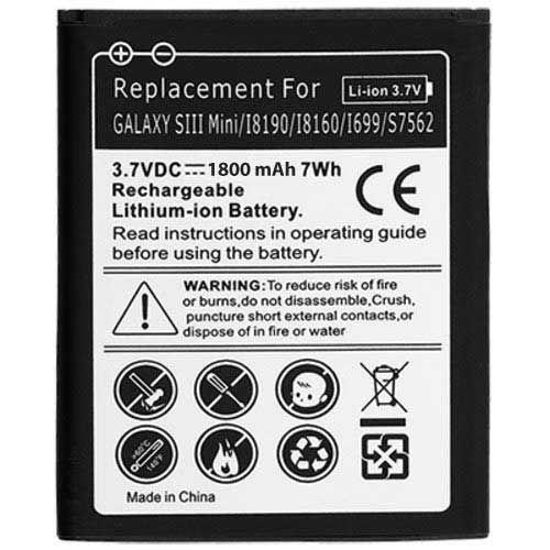 Universeel Batterij Samsung Galaxy S3 Mini i8200