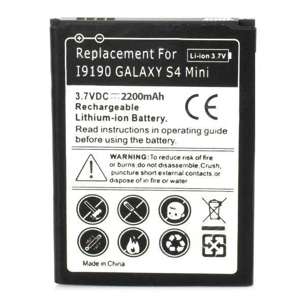 Universeel Batterij Samsung Galaxy S4 Mini i9190