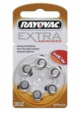 Rayovac Extra Advanced 312 Hoortoestel batterij