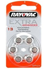 Rayovac Rayovac Extra Advanced 13 Hoortoestel batterij