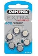 Rayovac Extra Advanced 675 Hoortoestel batterij