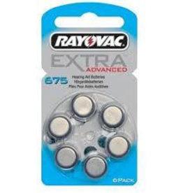 Rayovac Rayovac Extra Advanced 675 Hoortoestel batterij
