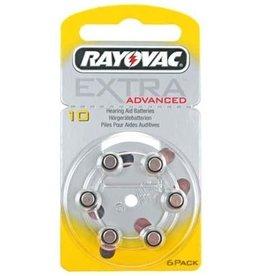 Rayovac Rayovac Extra Advanced 10 Hoortoestel batterij