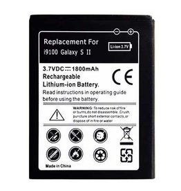 Universeel Batterij Samsung i9100 Galaxy S2 - Replacement