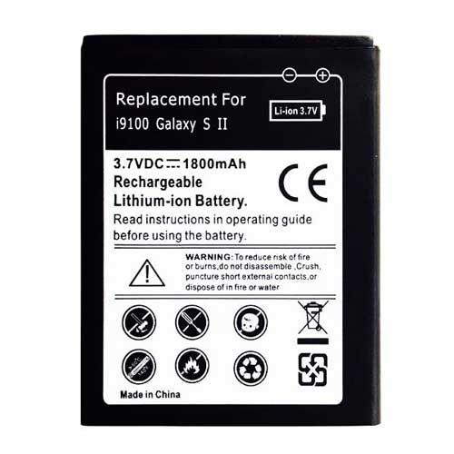 Universeel Batterij Samsung i9100 Galaxy S2 - Replacement