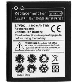 Universeel Batterij Samsung Galaxy S3 Mini i8190