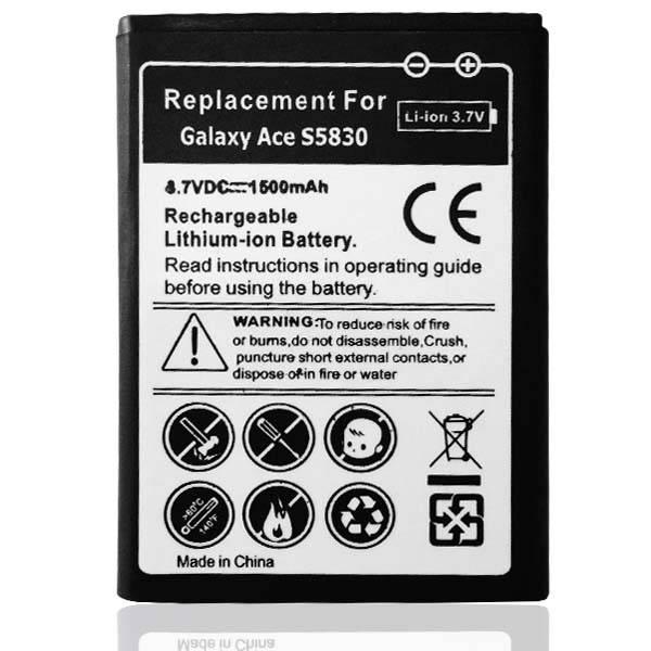 Universeel Batterij Samsung S7250 Wave M