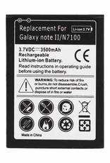 Universeel Batterij Samsung Galaxy Note 2 N7100