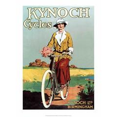 Vintage Bicycle Poster, Kynoch