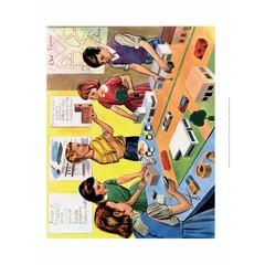 Vintage Classroom Poster -School Lesson