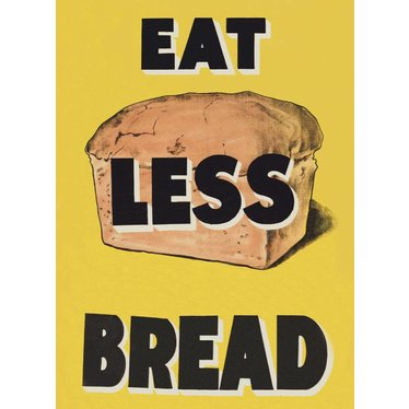 Eat Less Bread Magnet