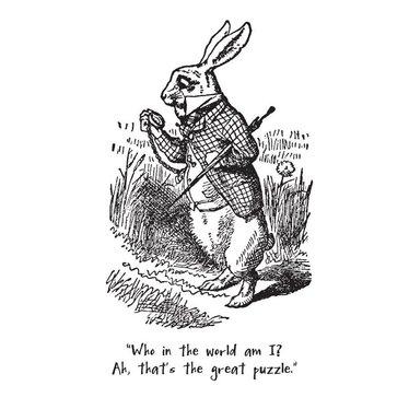 White Rabbit from Alice in Wonderland, Magnet