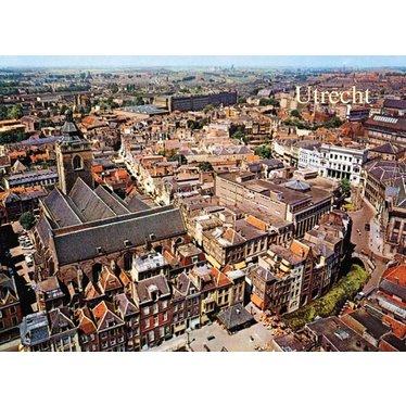 Sky View of Utrecht, 1960s