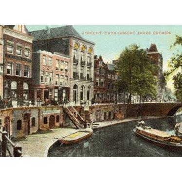 Oude Gracht, Utrecht, 1900