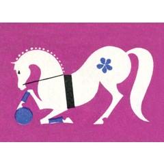 Russian Circus Horse Matchbox