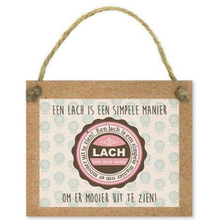 Bloemen- & Kadokaartjes Tell it - Een lach is een simpele manier om er mooier uit te zien
