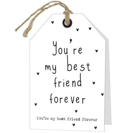 Wenskaarten Rebel30 - You're my best friend forever