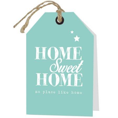 Wenskaarten Rebel30 - Home sweet home