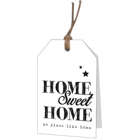 Bloemen- & Kadokaartjes Part30 - Home sweet home