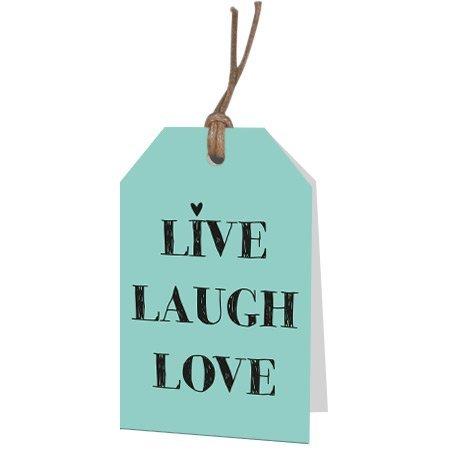 Bloemen- & Kadokaartjes Part30 - Live laugh love