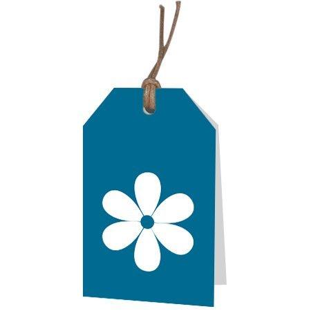 Bloemen- & Kadokaartjes Part30 - Blanco bloem