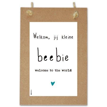 Wenskaarten Quote - Beebie