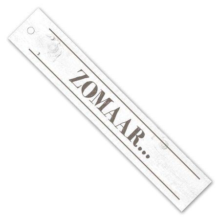 Bloemen- & Kadokaartjes Cottage Label - Zomaar...