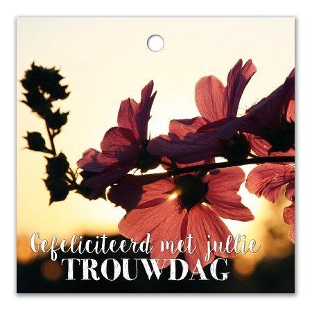 Bloemen- & Kadokaartjes Cottage - Gefeliciteerd met jullie trouwdag