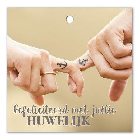 Bloemen- & Kadokaartjes Cottage - Gefeliciteerd met jullie huwelijk