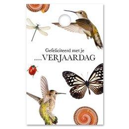 Botanic Gefeliciteerd met je …….verjaardag