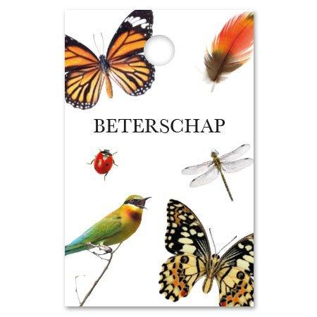 Botanic Kadokaartjes Botanic - Beterschap, hoop dat je je snel beter voelt