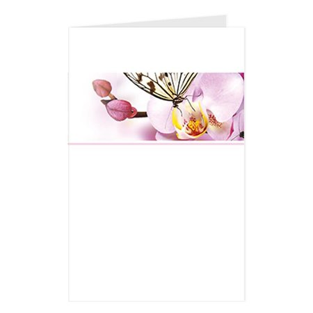Emotions Emotions groot formaat - roze orchidee - Blanco