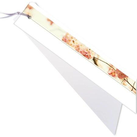 Emotions Emotions kleine ribbon - Cherry Blossom - Blanco