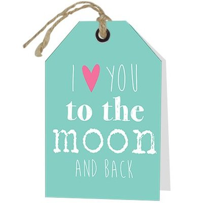Loving I Love you to the moon and back