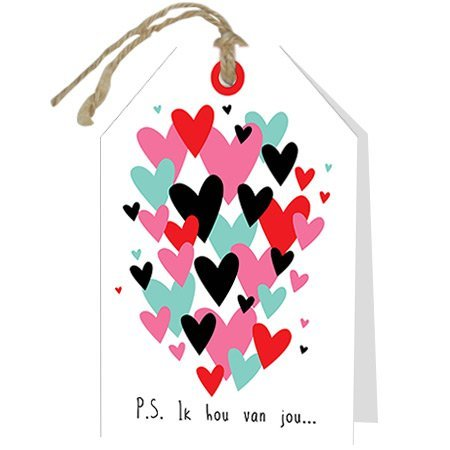 Loving Wenskaarten - Loving - P.s Ik hou van jou...