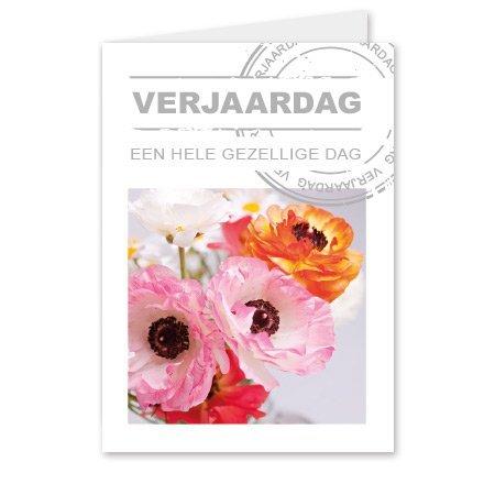 Living Home  Bloemen- & Kadokaartjes Living home - Verjaardag