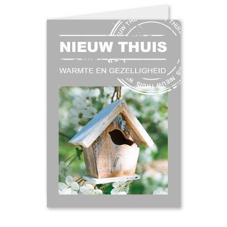 Living Home  Bloemen- & Kadokaartjes Living home - Nieuw thuis