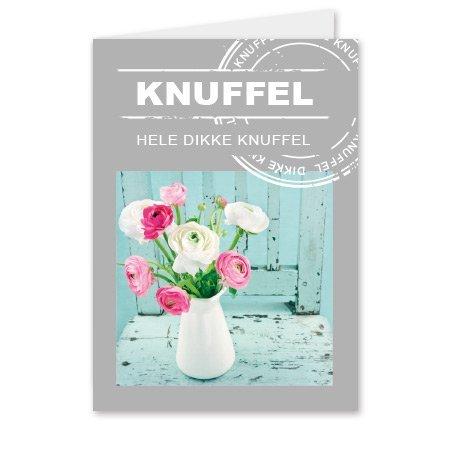 Living Home  Bloemen- & Kadokaartjes Living home - Knuffel