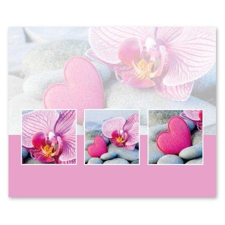 Romance Bloemen- & Kadokaartjes Romance - Roze hart