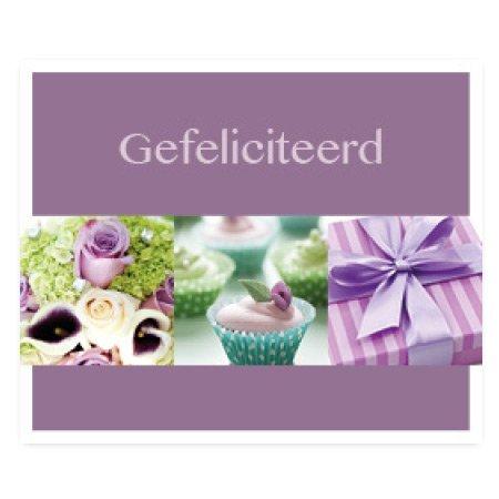 Favourite Bloemen- & Kadokaartjes - Favourite - Gefeliciteerd
