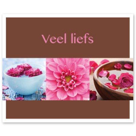 Favourite Bloemen- & Kadokaartjes - Favourite - Veel liefs