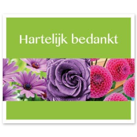 Favourite Bloemen- & Kadokaartjes - Favourite - Hartelijk bedankt