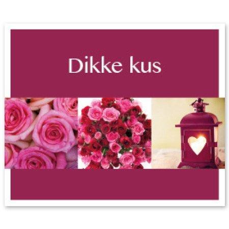 Favourite Bloemen- & Kadokaartjes - Favourite - Dikke kus