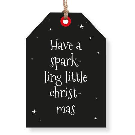 Wenskaarten Rebel30 - Have a sparkling little christmas