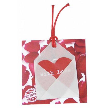 Gelegenheden Kadokaartjes - Valentijn - Rozenblaadjes