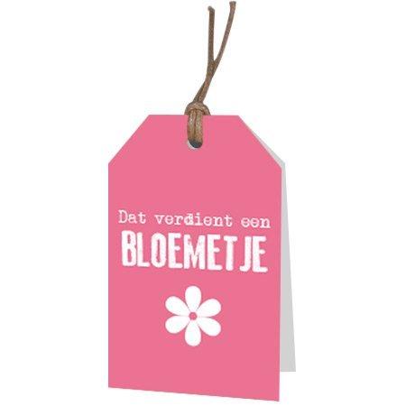 Bloemen- & Kadokaartjes Part30 - Dat verdient een bloemetje