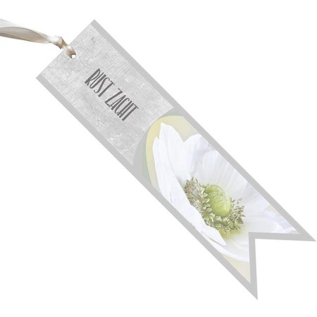 condoleance Condoleance Céleste - rust zacht - witte bloem