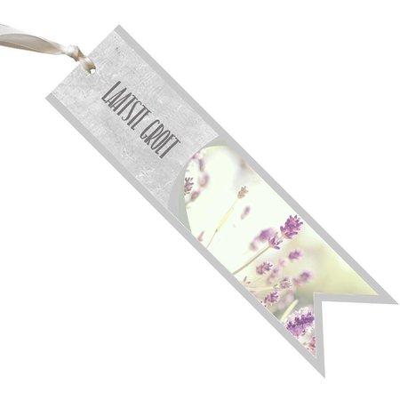 condoleance Condoleance Céleste - laatste groet - lavendel